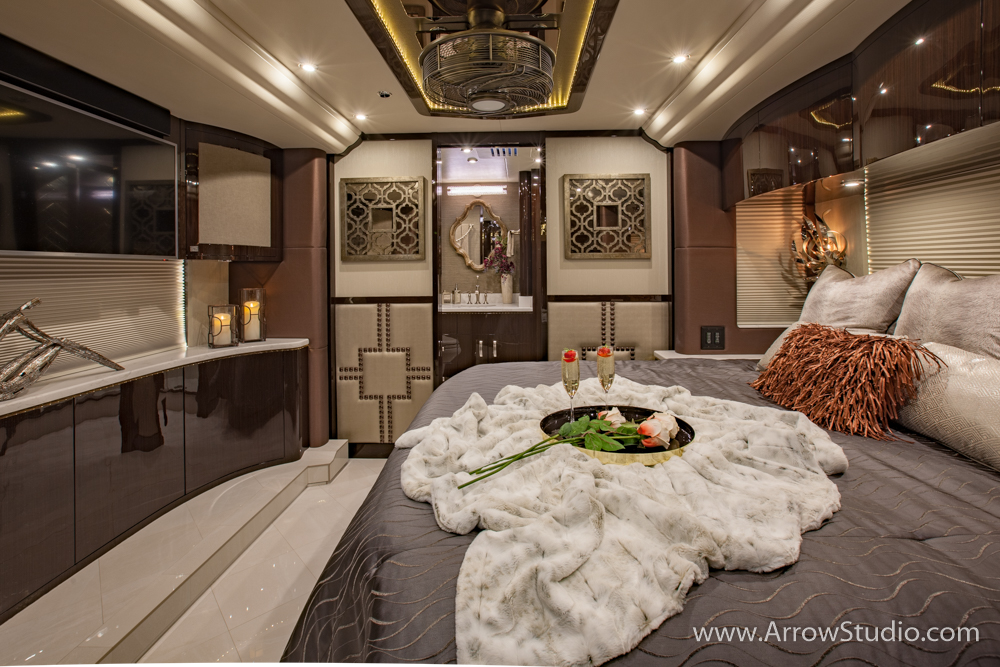 RV interior photography