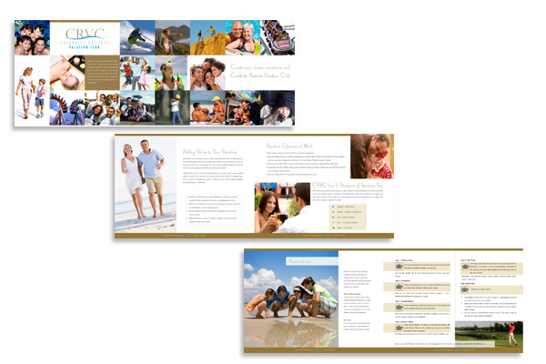 Vacation Club Brochure design