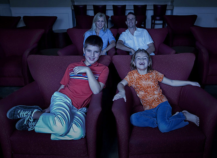 Family in a lifestyle photo by an Orlando photographer