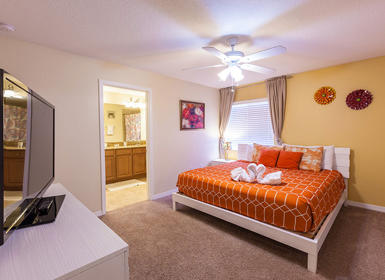Bedroom in Vacation home in Orlando