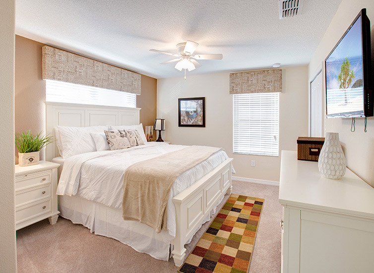 Vacation home - bedroom